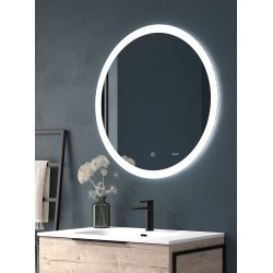 BACKLIT LED SQUARE MIRROR 60CM