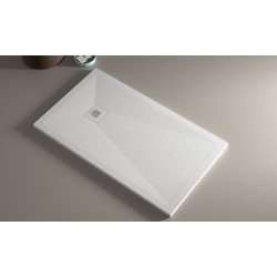 SHOWER TRAY  SERIE CUBE 100x70cm.