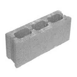 Concrete Block 10x20x50cm.