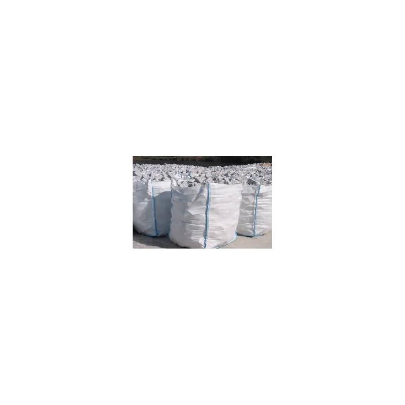 Big bag de canto rodado blanco azulejos tienda online - Canto rodado blanco ...