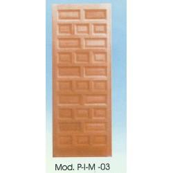 PUERTA INTERIOR DE MADERA Mod.PIM-03