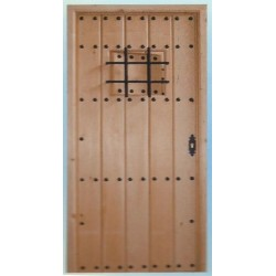 EXTERIOR WOODEN DOOR Mod.PCR-07