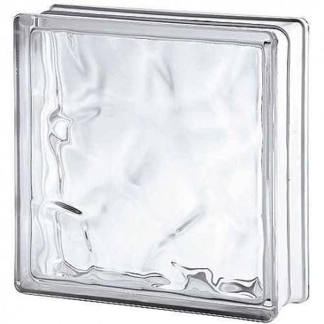 Basic ondulado transparente 19x19x8cm azulejos tienda online - Vidrio plastico transparente precio ...