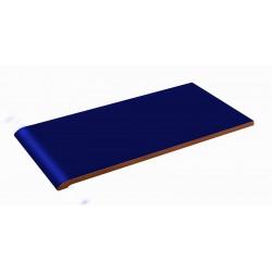 BLUE CERAMIC EDGING 14x28cm