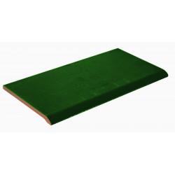 GREEN CERAMIC EDGING 28x14cm