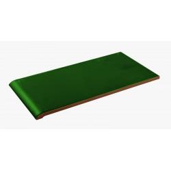 GREEN CERAMIC EDGING 14x28cm