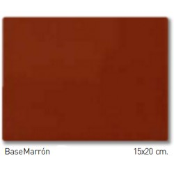 BROWN15x20cm STD