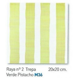 RAYA Nº2 TREPA VERDE PISTACHO 20x20cm STD