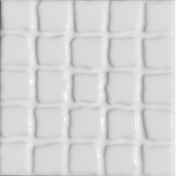 MOSAICO PINCELADO BLANCO STD 10x10