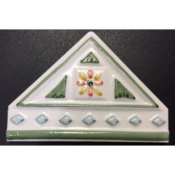 DECORATIVE WALL TILES  TRIANGULO VERDE 10x14cm.