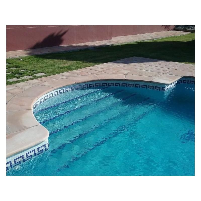 Gresite para piscinas barato great de gresite en piscina for Material piscina barato