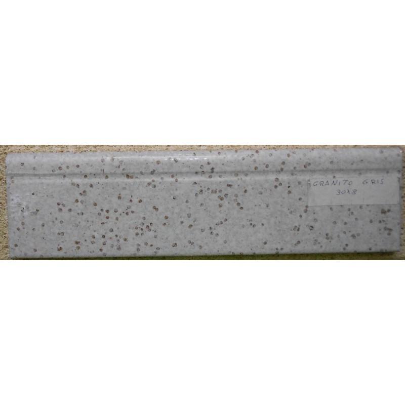Rodapie granito gris 8x30 azulejos tienda online for Precio granito gris