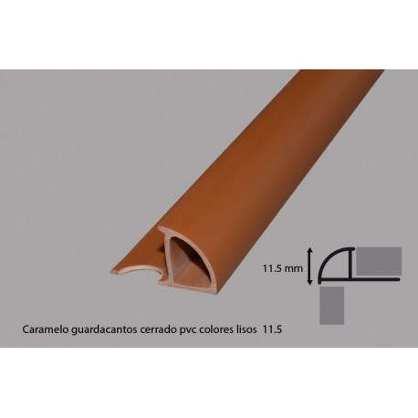 PVC EDGING STRIP FOR TILES LIGHT BROWN
