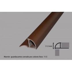 CANTONERA PARA AZULEJO DE PVC  MARRON OSCURO