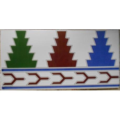Andaluz pinos 14x28cm azulejos tienda online - Azulejos patio andaluz ...