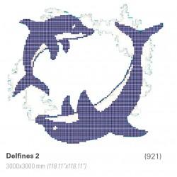 DELFINES 2   3000x3000mm.