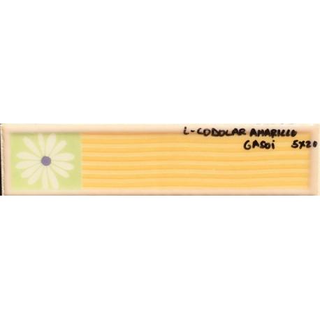 L codolar amarillo 5x20cm azulejos tienda online - Azulejo blanco 15x15 ...