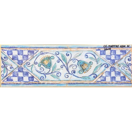 Maestre azul n 11x33cm azulejos tienda online - Azulejo 15x15 blanco ...