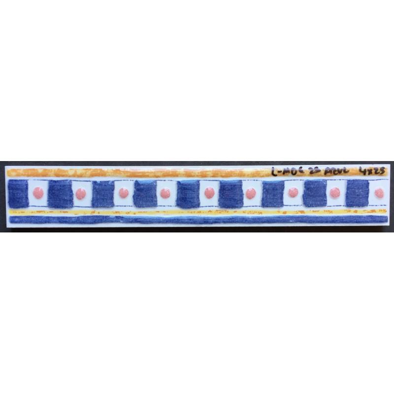 L moe 25 azul 4x25cm azulejos tienda online - Azulejo blanco 15x15 ...