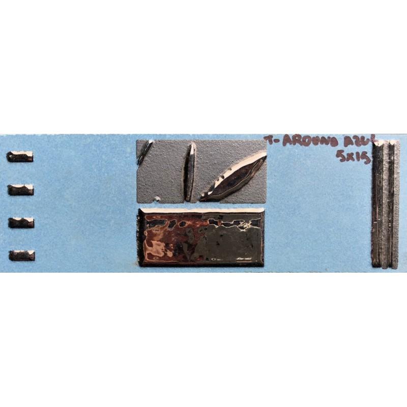 L arduna azul 5x15cm azulejos tienda online - Azulejo 15x15 blanco ...