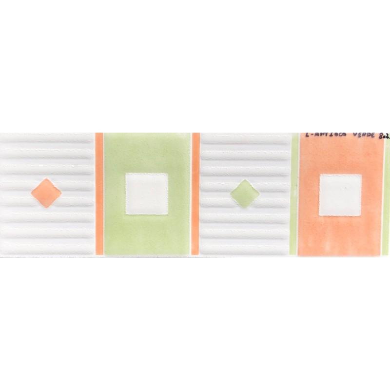 L antioco verde mate 8x25cm azulejos tienda online - Azulejo 15x15 blanco ...