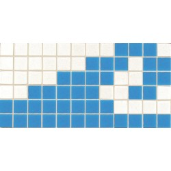BORDER MOSAIC TILES FOR SWIMMING POOL MOSAIC 2B AZUL CLARO 15x31cm. COM