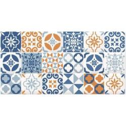 DECOR CAIRNS BLUE 30X60cm, STD
