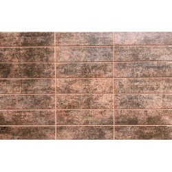 BALTIMORE MARRON  MATE 25x40cm ECO