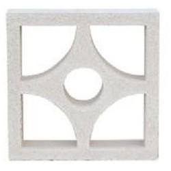 WHITE CELOSIA TREBOL 25x25